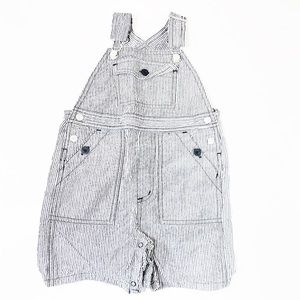 Janie and Jack Stripe Shorts Overall | SZ 18-24M